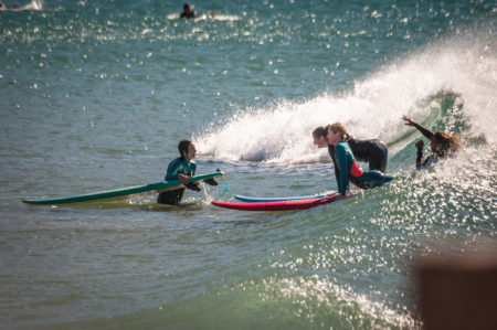 surf lesson - loving surf