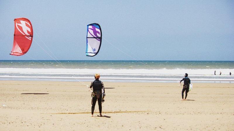 Kitesurf lessons Essaouira Lovingsurf school Morocco