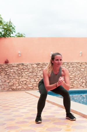 squat jump surf exercises morocco