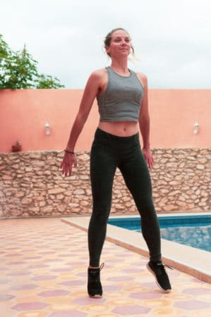 squat jump surf exercises morocco